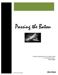 Passing the Baton
